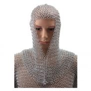 Chain Mail Coif (Mild Steel)