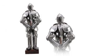 Discontinued--Mini Knight Armour Stainless Steel