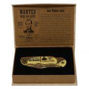 Jesse James memorabilia knife